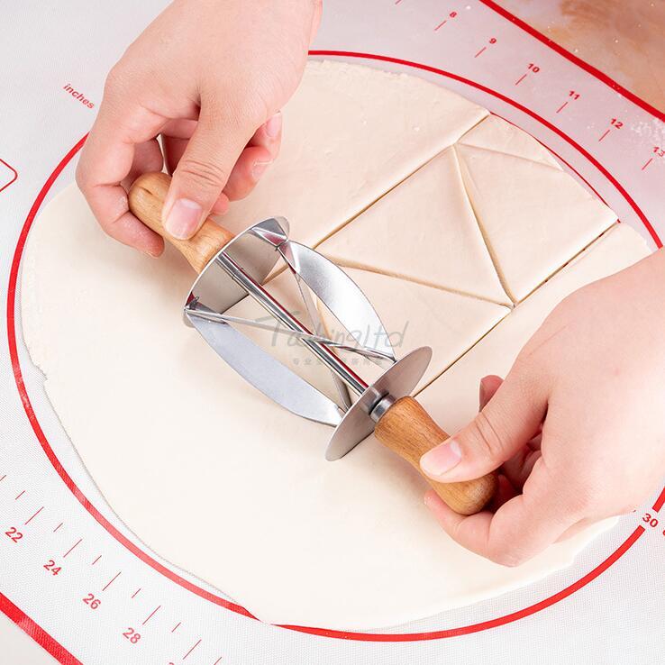 מכשיר להכנת קוראסון חיתוך בצק