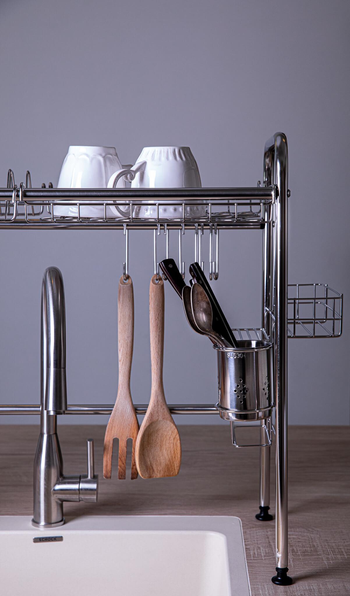 מתקן לייבוש כלים מעל הכיור (2)