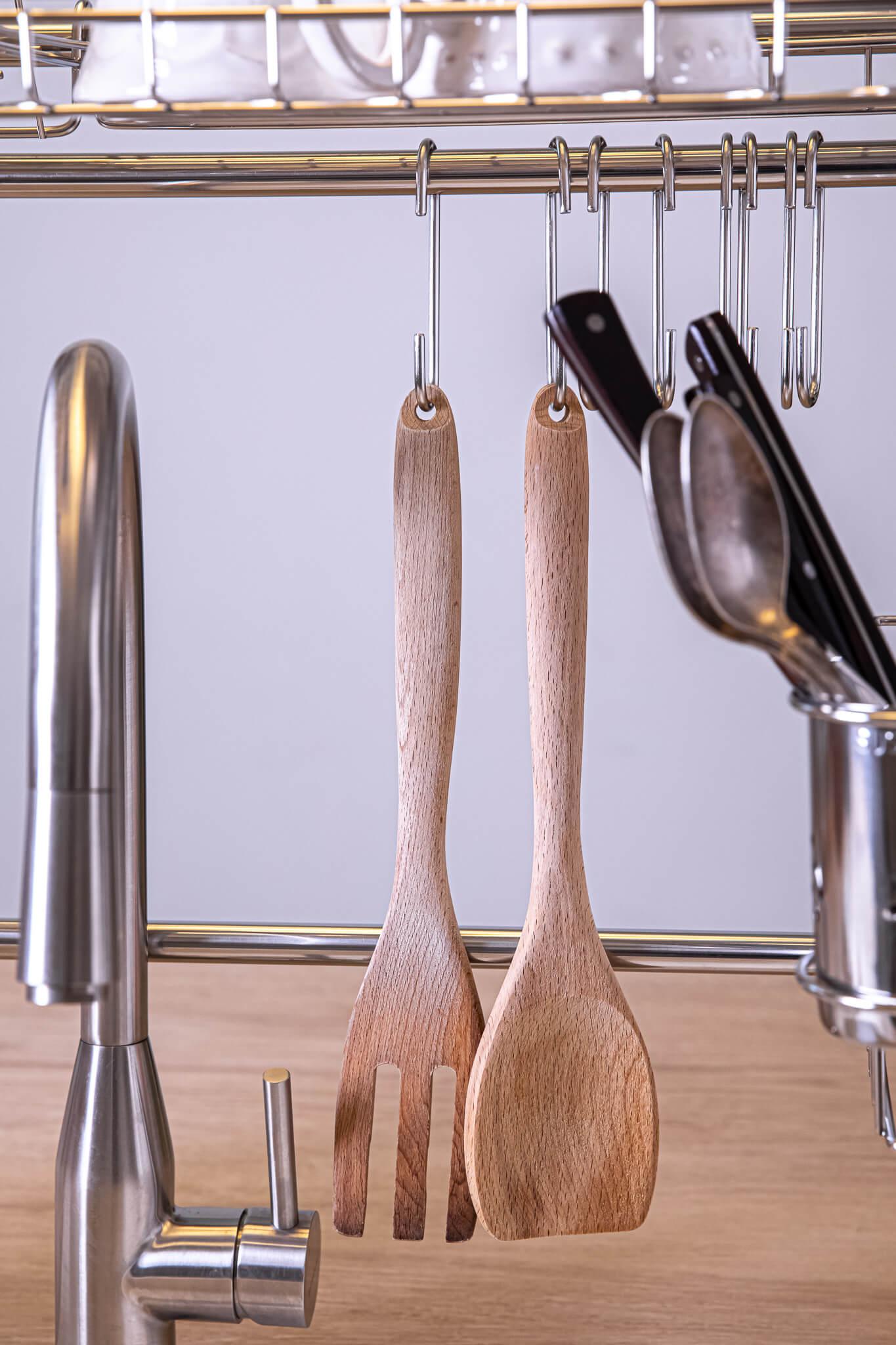 מתקן לייבוש כלים, 8 ווי תליה (2)