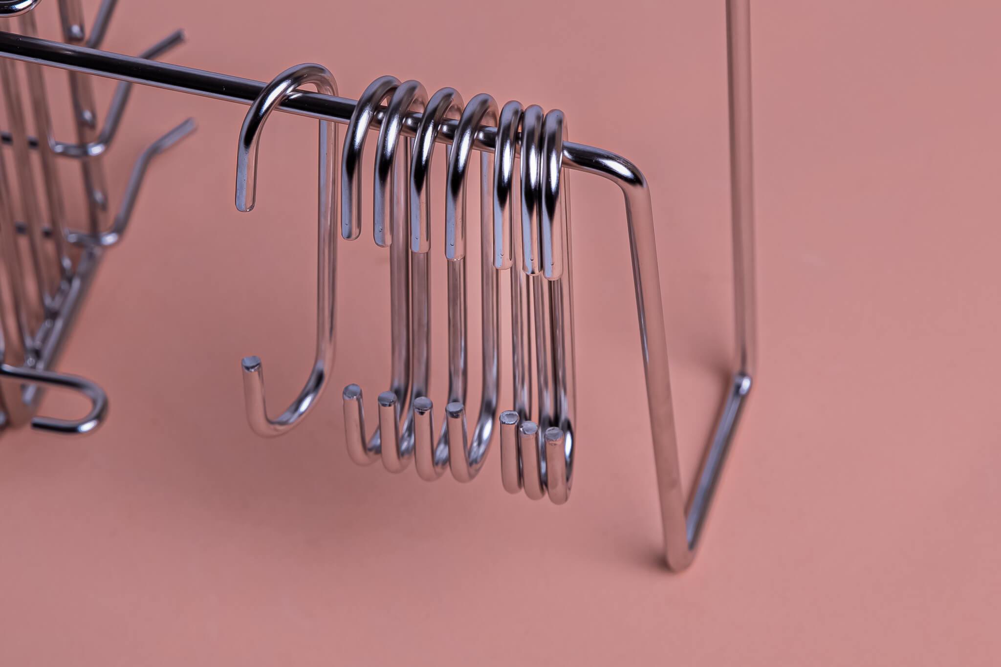 מתקן לייבוש כלים, 8 ווי תליה