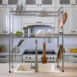 מתקן לייבוש כלים מעל הכיור שתי קומות (2)